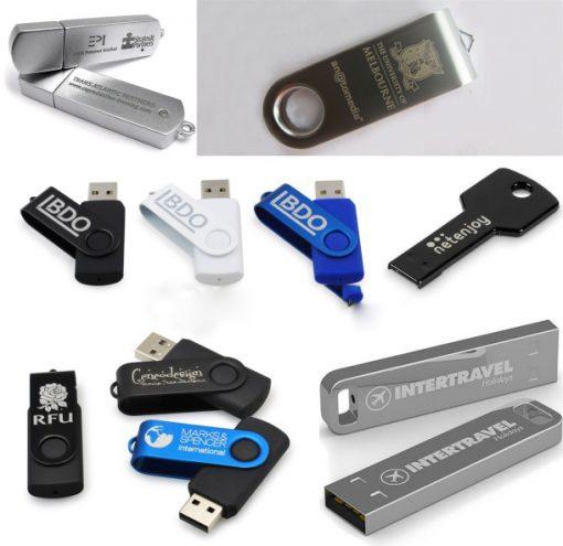 Khắc laser theo yêu cầu lên USB